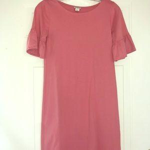 Pink JCrew dress